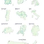 Rotondas por millón de habitantes