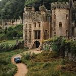 Gwrych Castle Wales UK