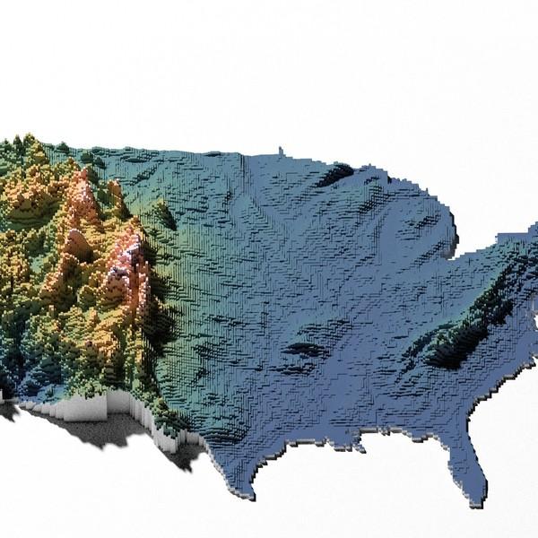 TopografiaUSA