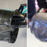 Comparativa frenos Mercedes-Racing Point