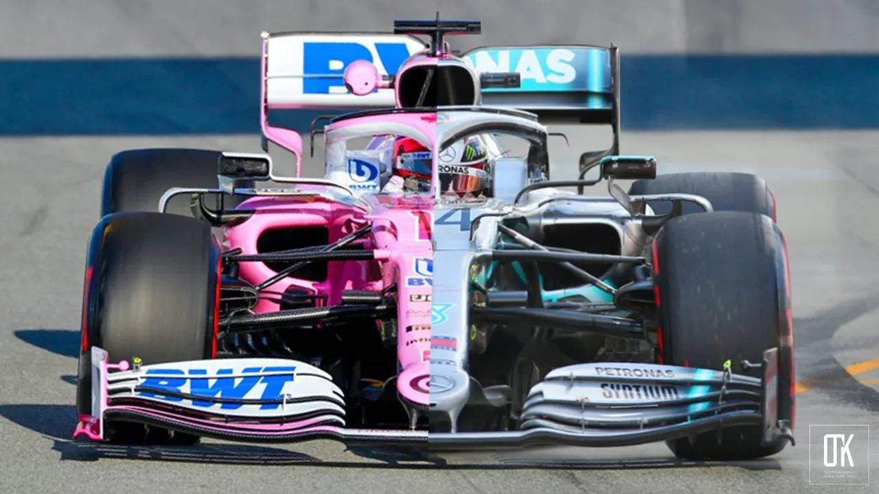 ¿Plagio en la F1?