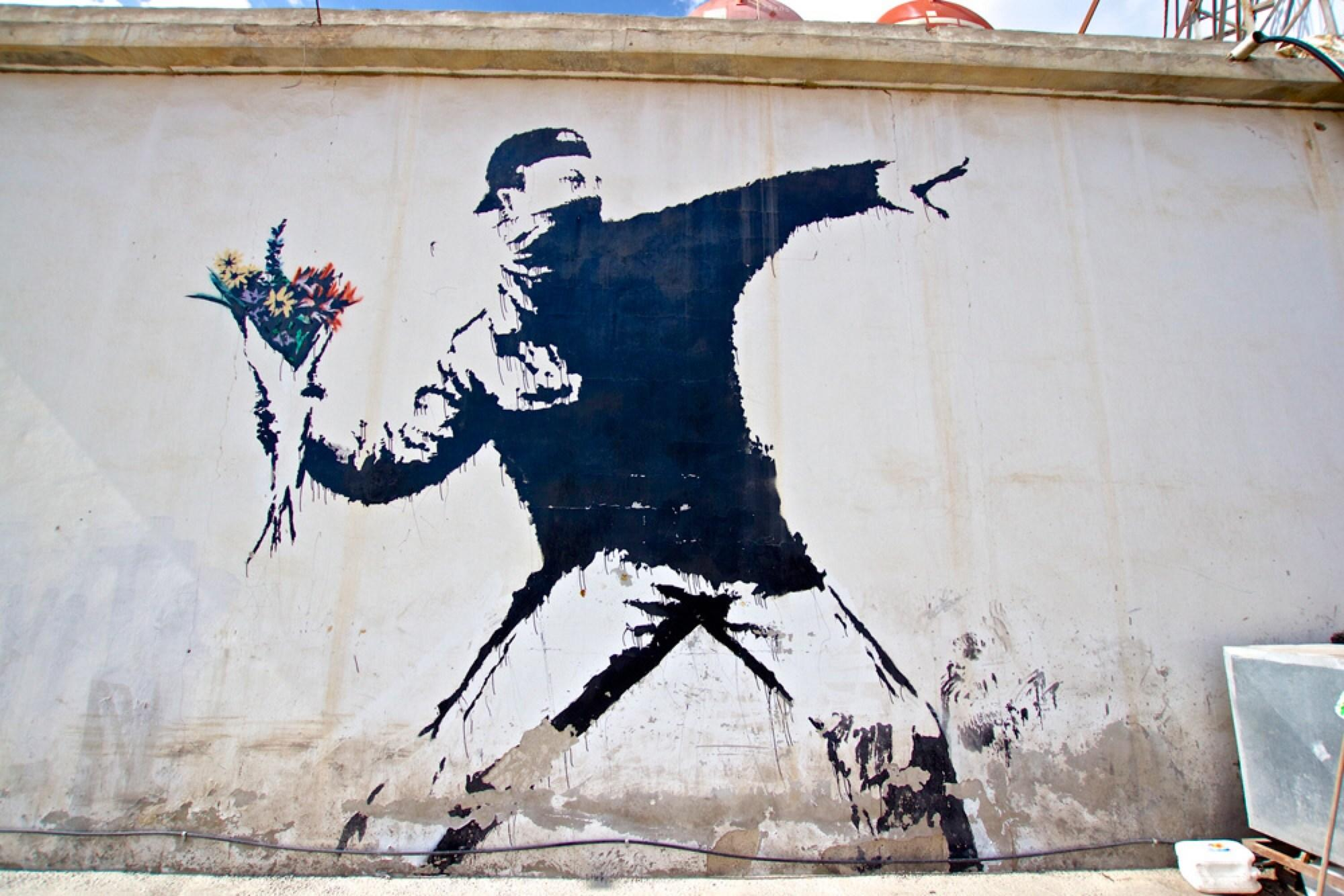 Banksy, ¿genio o gamberro?